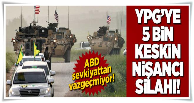 ABD'den YPG'ye 5 bin silah daha!  .