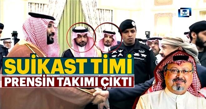 15 kişilik suikast timi Prens Selman'ın takımı