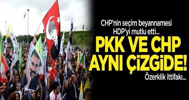PKK ve CHP'den özerklik ittifakı! CHP'nin seçim beyannamesi HDP'yi mutlu etti