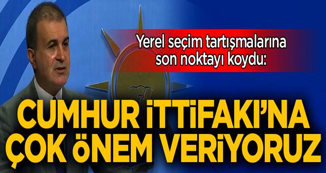 AK Parti Sözcüsü Ömer Çelik'ten MKYK açıklaması