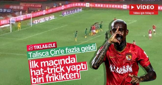 Talisca Çin'deki ilk maçında hat-trick yaptı