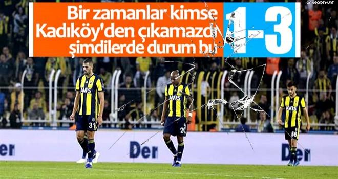 Fenerbahçe evinde Ankaragücü'ne yenildi