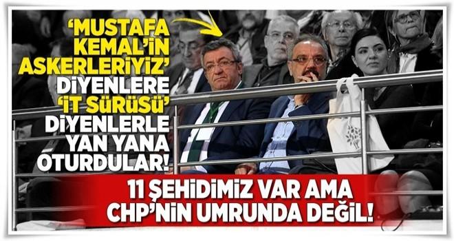 11 şehidimiz var ama CHP'nin umrunda değil! .