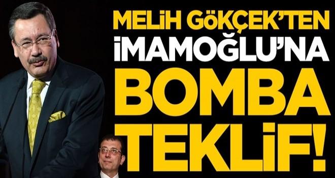 Melih Gökçek'ten Ekrem İmamoğlu'na bomba teklif
