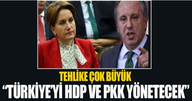 Şok iddia!! Türkiye'yi HDP ve PKK yönetecek..