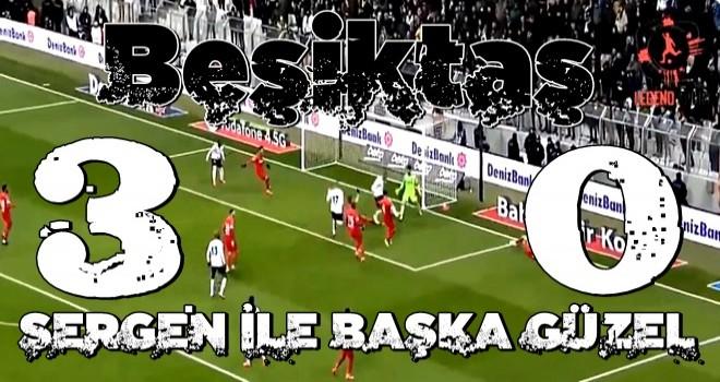 Sergen'li Beşiktaş gümbür gümbür!