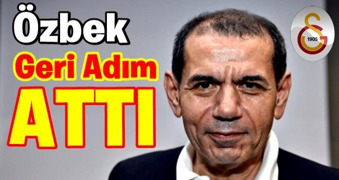 Özbek'ten geri adım