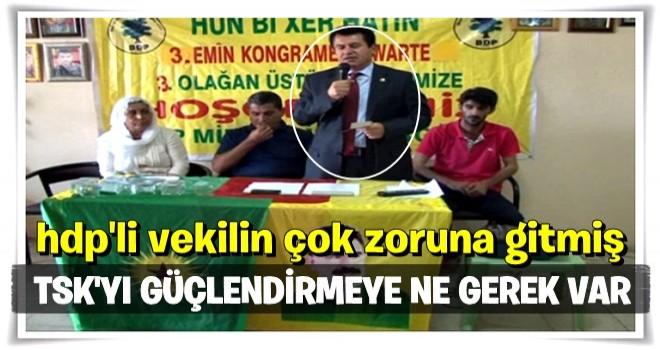 HDP Türkiye'nin silahlanmasına karşı