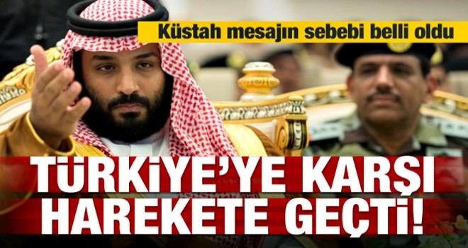 S.Arabistan Türkiye'ye karşı harekete geçti