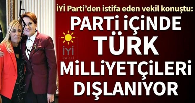 'İYİ Parti içinde Türk milliyetçileri dışlanıyor'