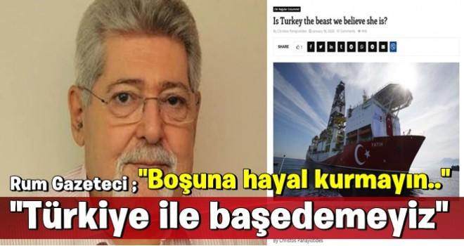 Rum gazeteciden Türkiye itirafı: Hayal kurmayın!