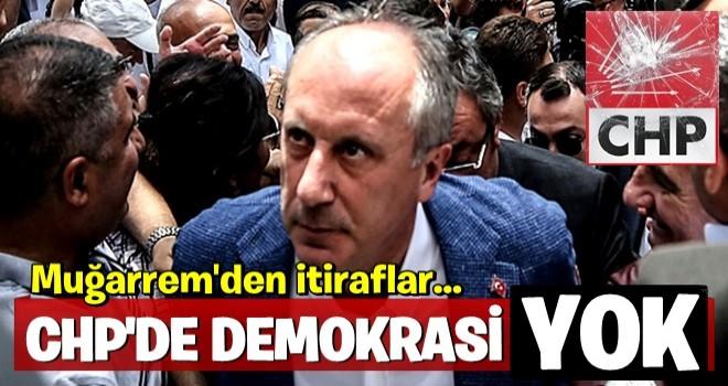 Muharrem İnce: CHP yüzde 20'nin altına düşer