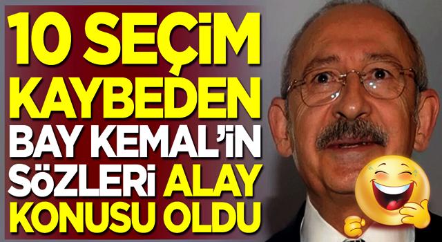 10 seçim kaybeden Kemal Kılıçdaroğlu'nun sözleri alay konusu oldu