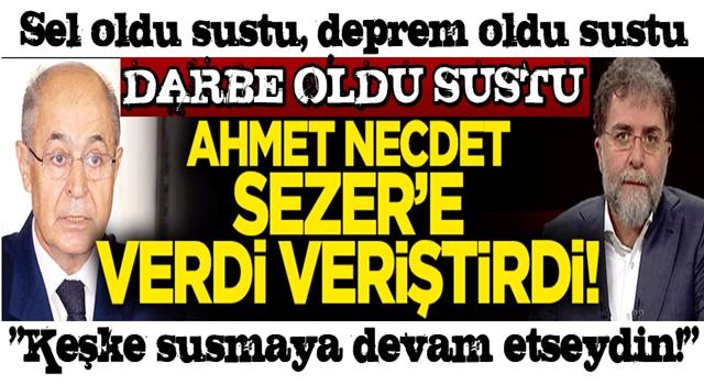 Ahmet Hakan'dan Sezer'e çok sert tepki: Keşke susmaya devam etseydin!