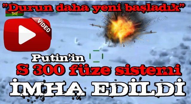 Azerbaycan, Ermenistan!a ait S 300 füze sistemi böyle imha etti! İşte vurma anı...