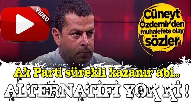 Cüneyt Özdemir'den muhalefete olay sözler: Bunu yapmadıkları sürece kaybetmeye mahkumlar