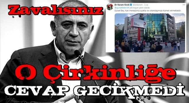 Depremin ardından CHP'li Gürsel Tekin'den tepki çeken tweet! Kızılaydan cevap