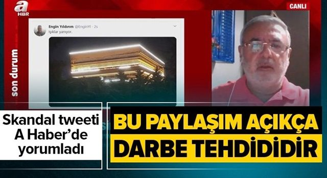 Mehmet Metiner A Haber'de yorumladı! Bu bir darbe tehdididir .