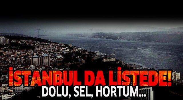 Meteorolojiden son dakika sağanak yağış uyarısı! (İstanbul, Ankara, İzmir hava durumu)