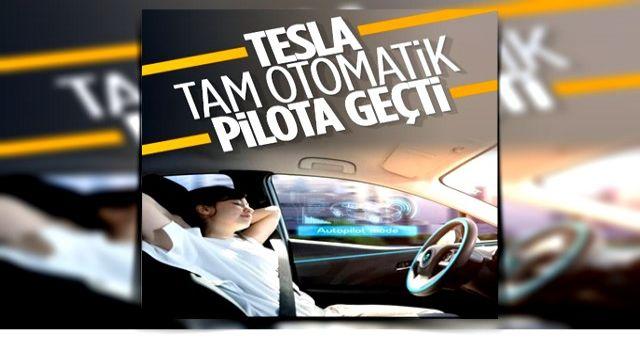 Tesla, tam otomatik sürüş sisteminin beta sürümünü kullanıcılara sundu