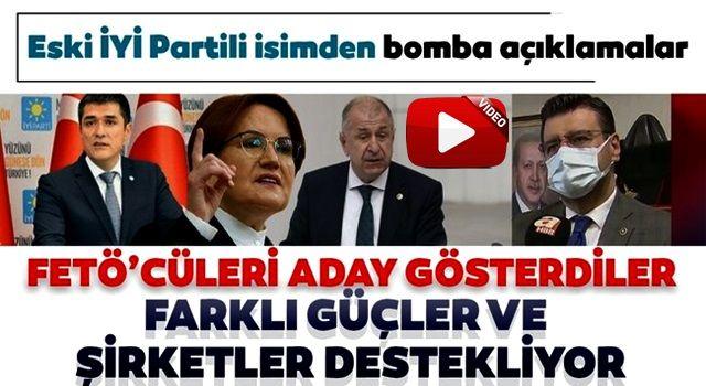 Ümit Özdağ'ın ardından eski İYİ Partili Tamer Akkal'dan da şok iddialar: FETÖ'cüleri aday gösterdiler
