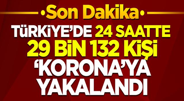 26 Kasım 2020'de Türkiye'de son 24 saatte 29 binden fazla kişi koronavirüse yakalandı