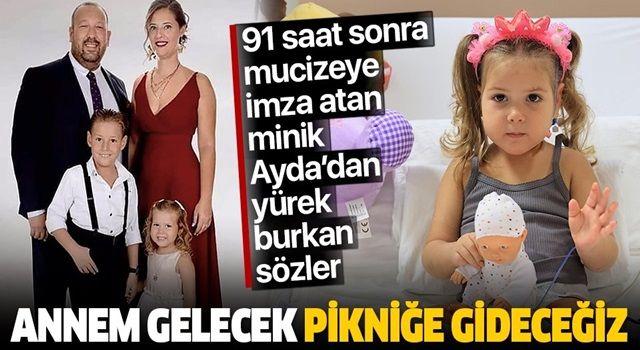 Ayda'nın babası Uğur Gezgin'den yürek yakan sözler: 'Annem gelecek pikniğe gideceğiz'