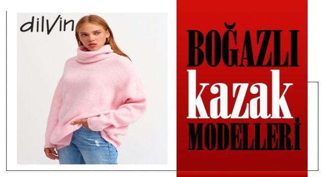 Boğazlı Kazak Modelleri Sizlerle