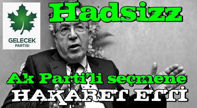 Davutoğlu'nun adamından AK Parti seçmenine hakaret! Sözleri tepki topladı