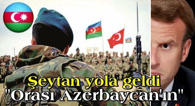 Ermeni gencin yardım isteğine Macron'dan cevap: Karabağ Azerbaycan'ın toprağı müdahale edemeyiz