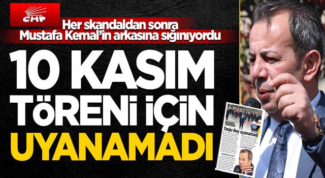 """İki kelimesinden biri """"Atatürk"""" olan Tanju Özcan, 10 Kasım törenine uyanamadı"""
