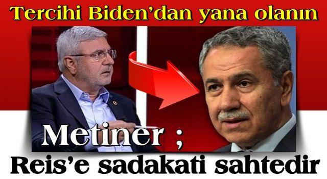 Mehmet Metiner'den olay sözler: Bu ismin Reis'e sadakati sahtedir