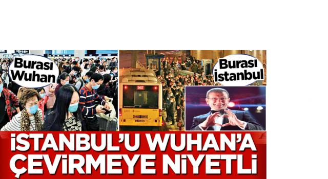 2 ayda 10 konser düzenleyen ekrem İ. ! İstanbul'u Wuhan'a çevirmeye niyetli