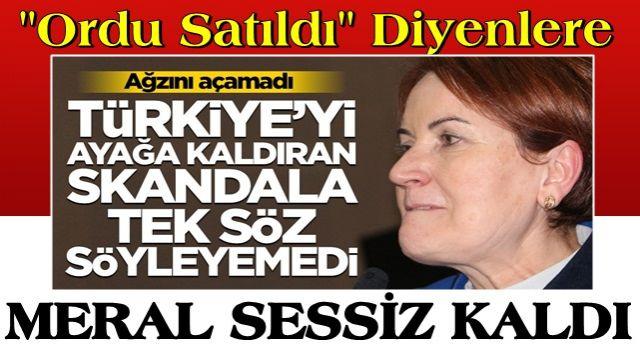 Ağzını açmadı! Akşener, Türkiye'yi ayağa kaldıran skandala karşı tek kelime söyleyemedi