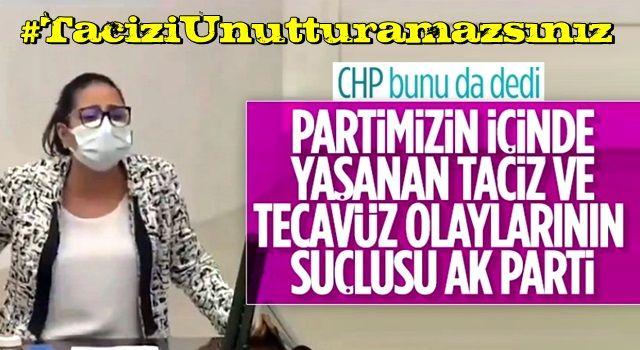 CHP parti içinde yaşanan taciz-tecavüz olaylarından AK Parti'yi sorumlu tuttu