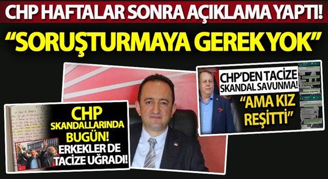 CHP'de adı taciz iddialarına karışan Barış Bektaş hakkında karar verildi!