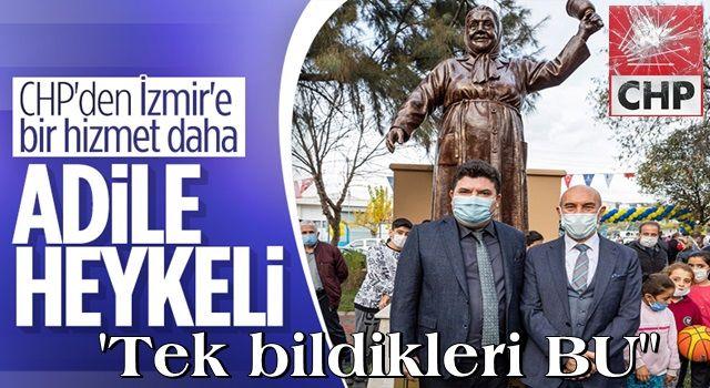 CHP'den İzmir'e Adile Naşit heykeli