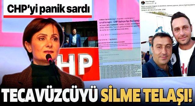 CHP'li Canan Kaftancıoğlu tecavüzcü Umut Karagöz'ün tüm bilgilerini partinin sitelerinden sildirdi!