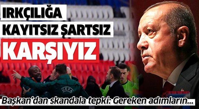 Cumhurbaşkanı Erdoğan ırkçılıkla ilgili tweet attı