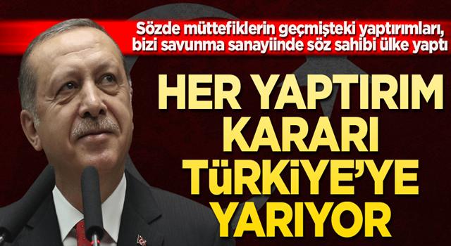 Her yaptırım kararı Türkiye'ye yarıyor