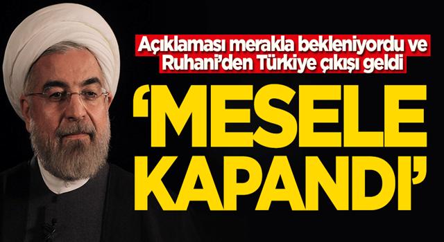 Ne diyeceği merakla bekleniyordu! Ruhani'den Türkiye ve Erdoğan açıklaması