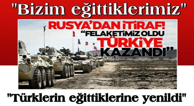 """Rusya'da kritik itiraf: """"Bizim için felaket! Türkiye kazandı"""""""