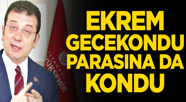 Sayıştay raporu, CHP'li İBB'de yaşanan bir skandalı daha ifşa etti! Ekrem gecekondu parasına da kondu