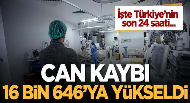 Türkiye'de 14 Aralık koronavirüs tablosu! İşte vaka sayısı, test sayısı ve can kaybı...