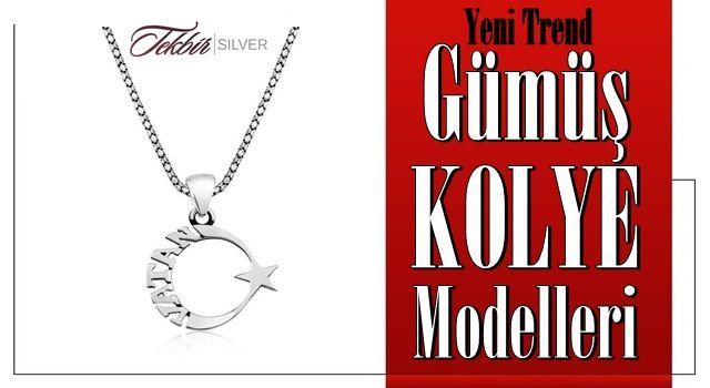 Yeni Trend Gümüş Kolye Modelleri