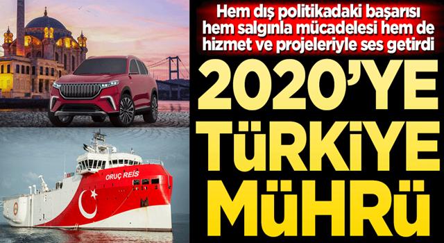 2020'ye Türkiye mührü