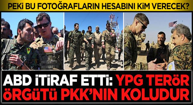 ABD Adalet Bakanlığı itiraf etti: YPG, terör örgütü PKK'nın alt koludur