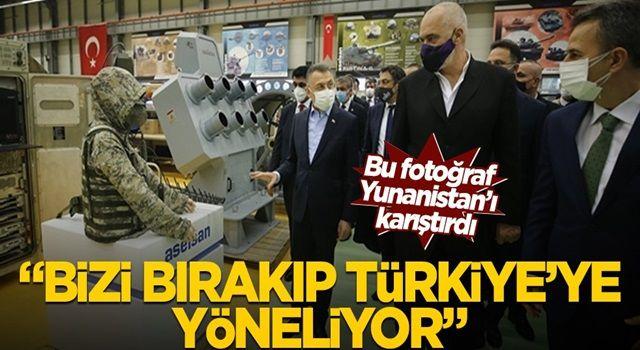 """Bu fotoğraf Yunanistan'ı karıştırdı! """"Bizi bırakıp Türkiye'ye yöneliyor"""""""