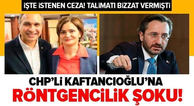 CHP'li Canan Kaftancıoğlu için istenen ceza belli oldu! Fahrettin Altun'un evinin fotoğraflanmasının talimatını vermişti.