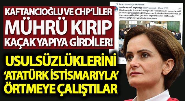 Kaftancıoğlu ve CHP'liler mührü kırıp içeri girdi!